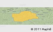 Savanna Style Panoramic Map of Botou