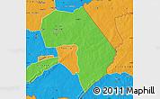 Political Map of Diapaga