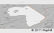 Gray Panoramic Map of Diapaga