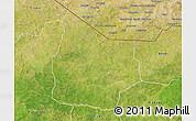 Satellite 3D Map of Kantchari