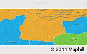 Political Panoramic Map of Kantchari