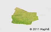 Satellite Panoramic Map of Kantchari, cropped outside