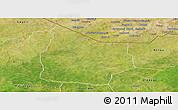 Satellite Panoramic Map of Kantchari