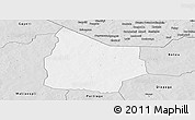 Silver Style Panoramic Map of Kantchari