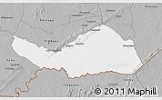 Gray 3D Map of Logobou