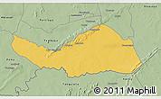 Savanna Style 3D Map of Logobou