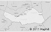 Silver Style 3D Map of Logobou