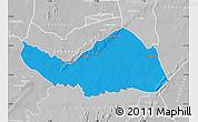 Political Map of Logobou, lighten, desaturated