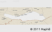 Classic Style Panoramic Map of Logobou