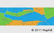 Political Panoramic Map of Logobou