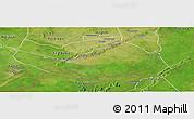 Satellite Panoramic Map of Logobou