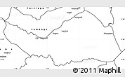 Blank Simple Map of Logobou