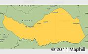 Savanna Style Simple Map of Logobou