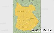 Savanna Style Map of Tapoa