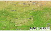 Satellite Panoramic Map of Tapoa