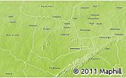 Physical 3D Map of Partiaga