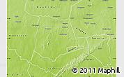 Physical Map of Partiaga