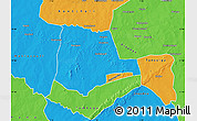 Political Map of Partiaga