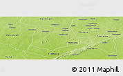 Physical Panoramic Map of Partiaga