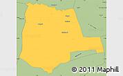 Savanna Style Simple Map of Partiaga