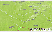 Physical 3D Map of Tambaga