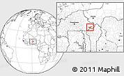Blank Location Map of Tambaga