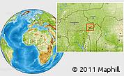 Physical Location Map of Tambaga