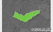 Political Map of Tambaga, darken, desaturated