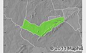 Political Map of Tambaga, desaturated