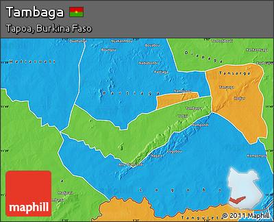 Political Map of Tambaga