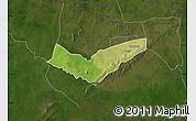 Satellite Map of Tambaga, darken