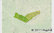 Satellite Map of Tambaga, lighten