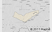 Shaded Relief Map of Tambaga, desaturated