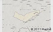 Shaded Relief Map of Tambaga, semi-desaturated