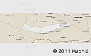 Classic Style Panoramic Map of Tambaga