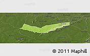 Physical Panoramic Map of Tambaga, darken