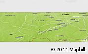 Physical Panoramic Map of Tambaga