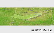 Physical Panoramic Map of Tambaga, satellite outside