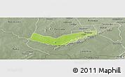 Physical Panoramic Map of Tambaga, semi-desaturated