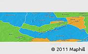 Political Panoramic Map of Tambaga