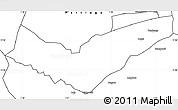 Blank Simple Map of Tambaga