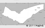 Gray Simple Map of Tambaga