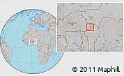 Gray Location Map of Tansarga