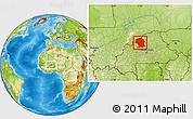 Physical Location Map of Yatenga