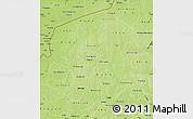 Physical Map of Yatenga