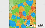 Political Map of Yatenga