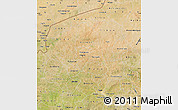 Satellite Map of Yatenga