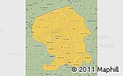 Savanna Style Map of Yatenga