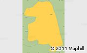 Savanna Style Simple Map of Namissiguima