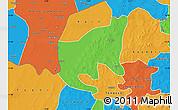 Political Map of Thiou